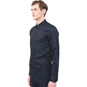 Abbigliamento Uomo Camicie maniche lunghe Antony Morato MMSL00525 FA440012 Blu