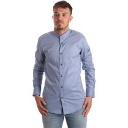 Abbigliamento Uomo Camicie maniche lunghe Antony Morato MMSL00526 FA430086 Blu