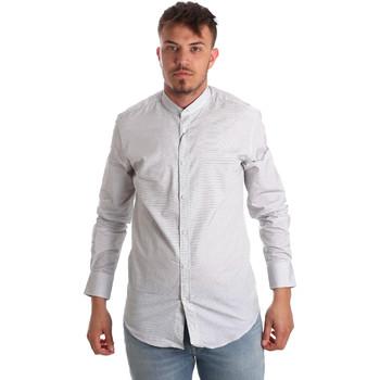 Abbigliamento Uomo Camicie maniche lunghe Antony Morato MMSL00526 FA440024 Bianco