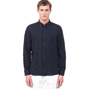 Abbigliamento Uomo Camicie maniche lunghe Antony Morato MMSL00530 FA400051 Blu