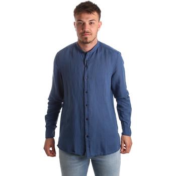 Abbigliamento Uomo Camicie maniche lunghe Antony Morato MMSL00547 FA400051 Blu