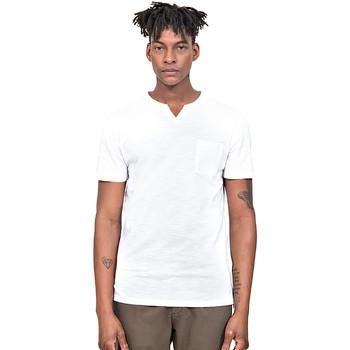 Abbigliamento Uomo T-shirt maniche corte Antony Morato MMKS01487 FA100139 Bianco