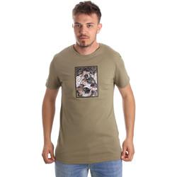 Abbigliamento Uomo T-shirt maniche corte Antony Morato MMKS01551 FA100144 Verde