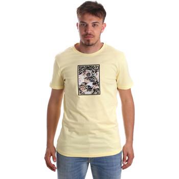 Abbigliamento Uomo T-shirt maniche corte Antony Morato MMKS01551 FA100144 Giallo