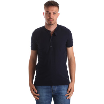 Abbigliamento Uomo T-shirt maniche corte Gaudi 911FU53008 Blu