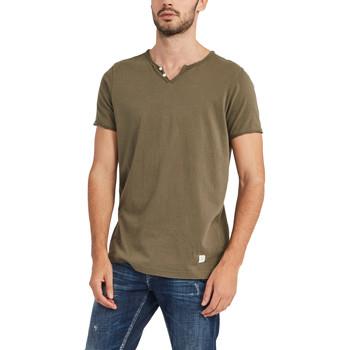 Abbigliamento Uomo T-shirt maniche corte Gaudi 911BU64024 Verde