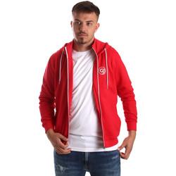 Abbigliamento Uomo Felpe Gaudi 911BU64043 Rosso