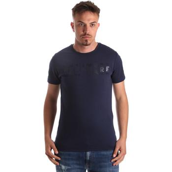 Abbigliamento Uomo T-shirt maniche corte Navigare NV31081 Blu