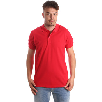 Abbigliamento Uomo Polo maniche corte Navigare NV82001 Rosso