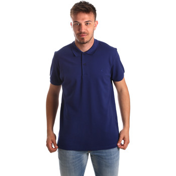 Abbigliamento Uomo Polo maniche corte Navigare NV82001AD Blu