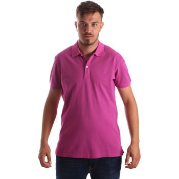 Abbigliamento Uomo Polo maniche corte Navigare NV82086 Rosa