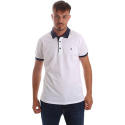 Abbigliamento Uomo Polo maniche corte Navigare NV82097AD Bianco