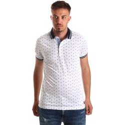 Abbigliamento Uomo Polo maniche corte Navigare NV82099 Bianco