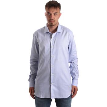 Abbigliamento Uomo Camicie maniche lunghe Navigare NV90005 FR Blu