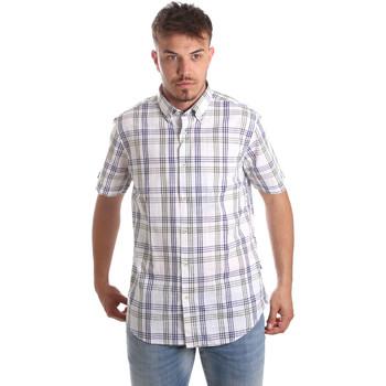 Abbigliamento Uomo Camicie maniche corte Navigare NV91057 BD Blu