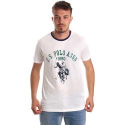 Abbigliamento Uomo T-shirt maniche corte U.S Polo Assn. 52465 51334 Bianco