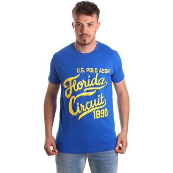 Abbigliamento Uomo T-shirt maniche corte U.S Polo Assn. 49351 51340 Blu