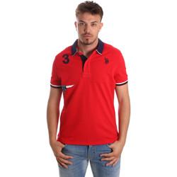 Abbigliamento Uomo Polo maniche corte U.S Polo Assn. 41029 51252 Rosso