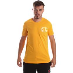 Abbigliamento Uomo T-shirt maniche corte Champion 213251 Giallo
