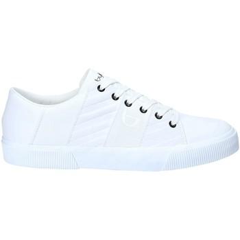 Scarpe Uomo Sneakers Byblos Blu 2MA0003 LE9999 Bianco