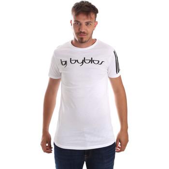 Abbigliamento Uomo T-shirt maniche corte Byblos Blu 2MT0016 TE0046 Bianco