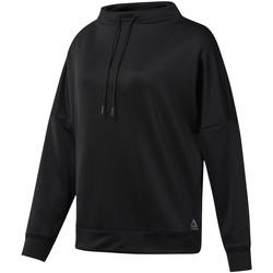 Abbigliamento Donna Felpe Reebok Sport DP6675 Nero