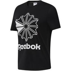 Abbigliamento Donna T-shirt maniche corte Reebok Sport DT7219 Nero