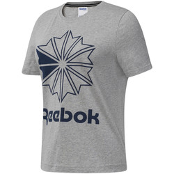 Abbigliamento Donna T-shirt maniche corte Reebok Sport DT7221 Grigio