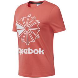 Abbigliamento Donna T-shirt maniche corte Reebok Sport DT7223 Rosa