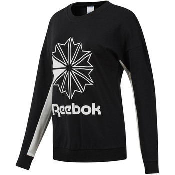 Abbigliamento Donna Felpe Reebok Sport DT7241 Nero