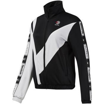 Abbigliamento Donna Felpe Reebok Sport DT7260 Nero