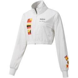 Abbigliamento Donna Giubbotti Reebok Sport DY9376 Bianco