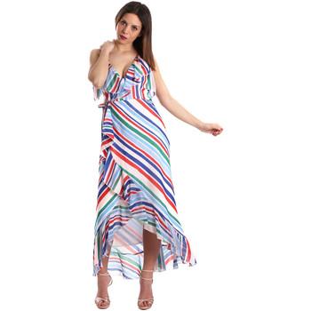 Abbigliamento Donna Abiti lunghi Fracomina FR19SP594 Bianco