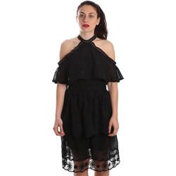 Abbigliamento Donna Abiti corti Fracomina FR19SP539 Nero