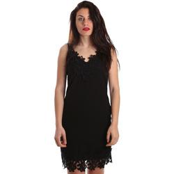 Abbigliamento Donna Abiti corti Fracomina FR19SP024 Nero