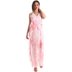 Abbigliamento Donna Abiti lunghi Fracomina FR19SP429 Rosa