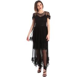 Abbigliamento Donna Abiti lunghi Fracomina FR19SP364 Nero