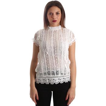 Abbigliamento Donna Top / Blusa Fracomina FR19SP521 Bianco