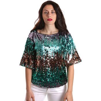 Abbigliamento Donna Top / Blusa Fracomina FR19SP525 Verde