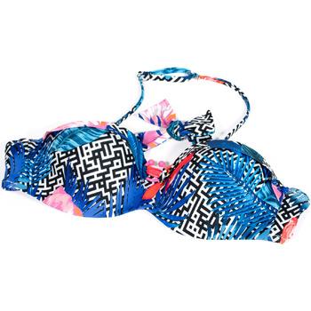 Abbigliamento Donna Costume componibile Ea7 Emporio Armani 912089 9P432 Blu