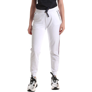 Abbigliamento Donna Pantaloni da tuta Ea7 Emporio Armani 3GTP54 TJ31Z Bianco