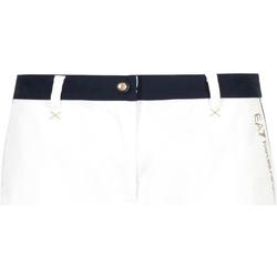 Abbigliamento Donna Shorts / Bermuda Ea7 Emporio Armani 3GTS02 TN29Z Bianco