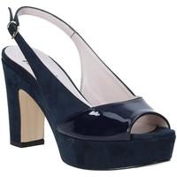 Scarpe Donna Sandali Grace Shoes 679004 Blu