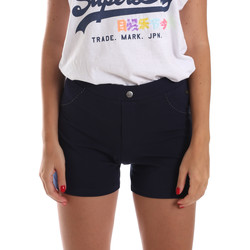 Abbigliamento Donna Shorts / Bermuda Key Up 5L79G 0001 Blu
