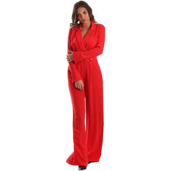 Abbigliamento Donna Tuta jumpsuit / Salopette Byblos Blu 2WD0010 TE0012 Rosso