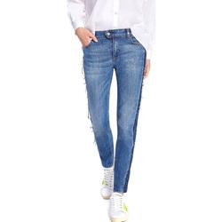 Abbigliamento Donna Jeans slim Byblos Blu 2WJ0004 TE0135 Blu