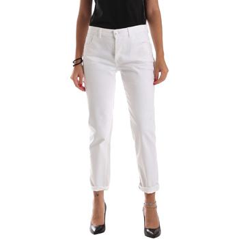 Abbigliamento Donna Jeans slim Byblos Blu 2WJ0011 TE0128 Bianco