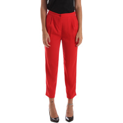 Abbigliamento Donna Chino Byblos Blu 2WP0002 TE0012 Rosso