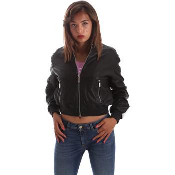 Abbigliamento Donna Giacca in cuoio / simil cuoio Byblos Blu 2WS0004 LE0009 Nero