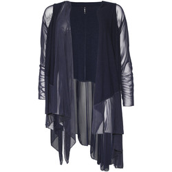Abbigliamento Donna Gilet / Cardigan Smash S1953411 Blu